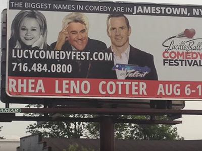 Tom Cotter Lucille Ball Comedy Festival