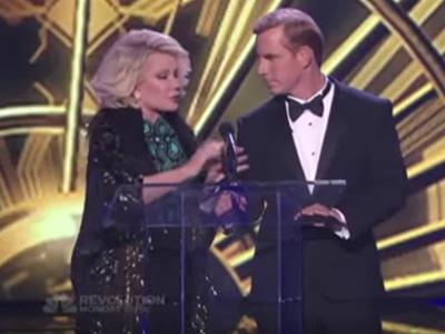Tom Cotter & Joan Rivers